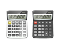 Two realistic vector calculators.