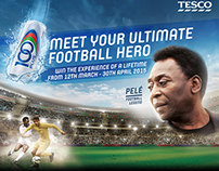 100Plus 'Meet your ultimate football hero' campaign