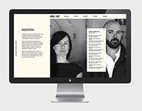 Räl 167 Architecture Studio — Website, 2012