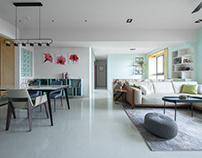 Morandi x Taiwan Interior Design | Dr. Yang案