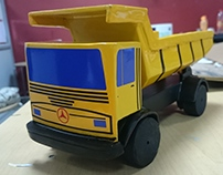 MODEL MAKING - Mercedes Dumper by Leo toy collection