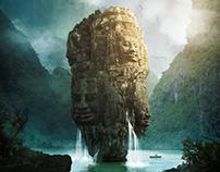 Monolith - matte painting