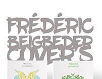 Frédéric Beigbeder book cover's