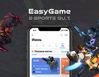 EasyGame - Esports Quiz