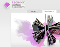RECBOOK CONCEPT BIBLIOTEQUE business-unit of REC chain