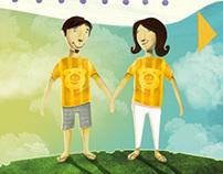 Campanha Dia dos Namorados - Thks t-shirts & happiness