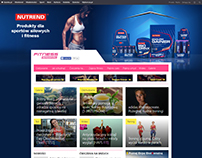 Nutrend page layout