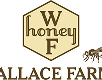 Wallace Farms Logo and Label Redesign