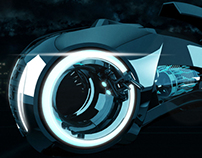 The Tron Legacy : Lightcycle
