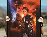 STAR WARS: REBELS& SCOUNDRELS FINE ART PRINT