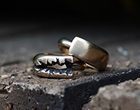 Lost Wax Cast Rings {Metanoia}