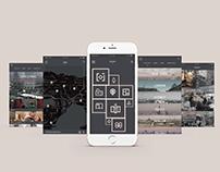 Scener Film Tourism App UX/UI Design