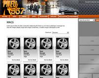 Tire retailer Web Design
