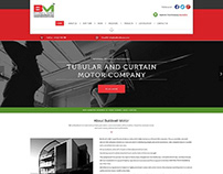 Home Page Design for Build Well Motors