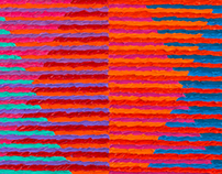 Side by Side, Orange and Blue, 2013