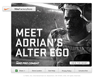 Nike Factory Store E-Mail Campaign