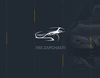 """VSE ZAPCHASTI"" Website redesign"