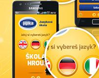 Mobilní aplikace Škola Hrou.