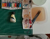 "watercolor ""Cap. Gabriel"""