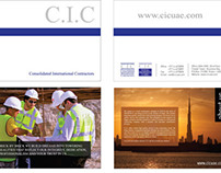 CIC Brochure Design
