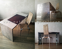 Casted Aluminium Table