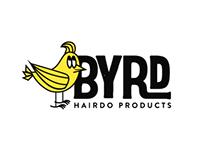 Byrd Hairdo Products Branding