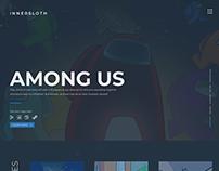 Innersloth Website | UI/UX Design Concept
