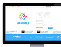 Hostelzoo - Web Design & Dev