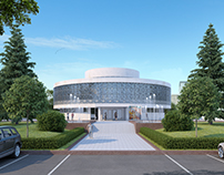 Реконструкция Центрального Дворца Бракосочетания Алматы