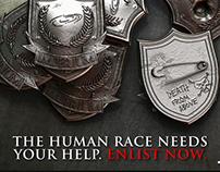 Imperium badges 3D prints