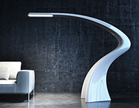 LUMIA_Monolithic Floor Lamp