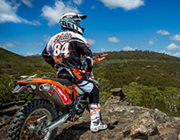 KTM Motorcycles Australia - 2013 Enduro Team Shoot