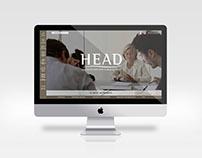 Webdesign pour HEAD - École de droit