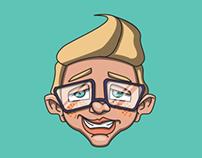 Nerd Vision Mascot