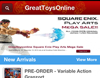 GreatToysOnline.com for iOS