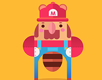 Super Mario and Friends!