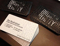 Brokenreality Business Cards