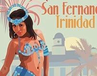 Travel and Event Posters, San Fernando, Trinidad