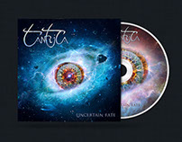 Tantrica - Uncertain Fate CD Packaging Design
