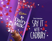 Cadbury Dairy Milk Valentine's Edition