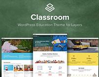 Classroom WordPress Middle Schools Theme