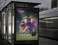 Canon Advertisement Project