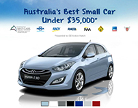 Hyundai-i30 Rich Media Campaign Site
