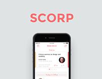 Scorp- Corporate events app