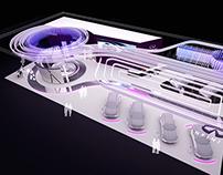 Seoul Motor Show 2011 - Nissan booth design plan