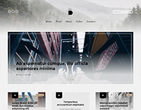 Blogio - Mini Personal WordPress Blog Theme