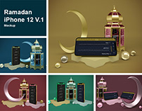 Ramadan iPhone 12 V.1 Mockup