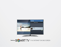 Samsung Smart TV Print Ads