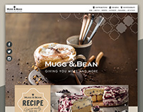 Mugg & Bean Website 2017