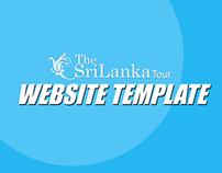 TheSriLankaTours Web Template